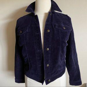 Chaps ink blue corduroy jacket